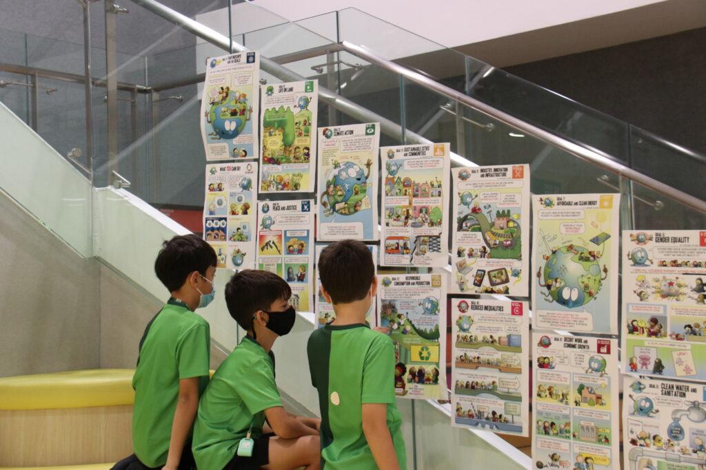 GESS UN Sustainable Development Goals for Students Exhibition